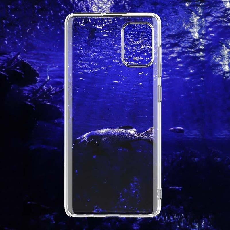 قاب محافظ شیشه ای- ژله ای سامسونگ Belkin Transparent Case For Samsung Galaxy A51