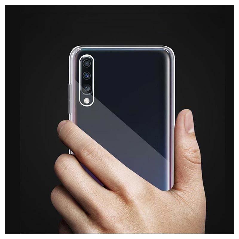 قاب محافظ شیشه ای- ژله ای سامسونگ Belkin Transparent Case For Samsung Galaxy A70