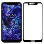 محافظ صفحه نمایش سرامیکی تمام صفحه نوکیا Ceramics Full Screen Protector Nokia X5 5.1 Plus