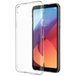 قاب محافظ کریستالی ال جی Clear Crystal Cover For LG Q6