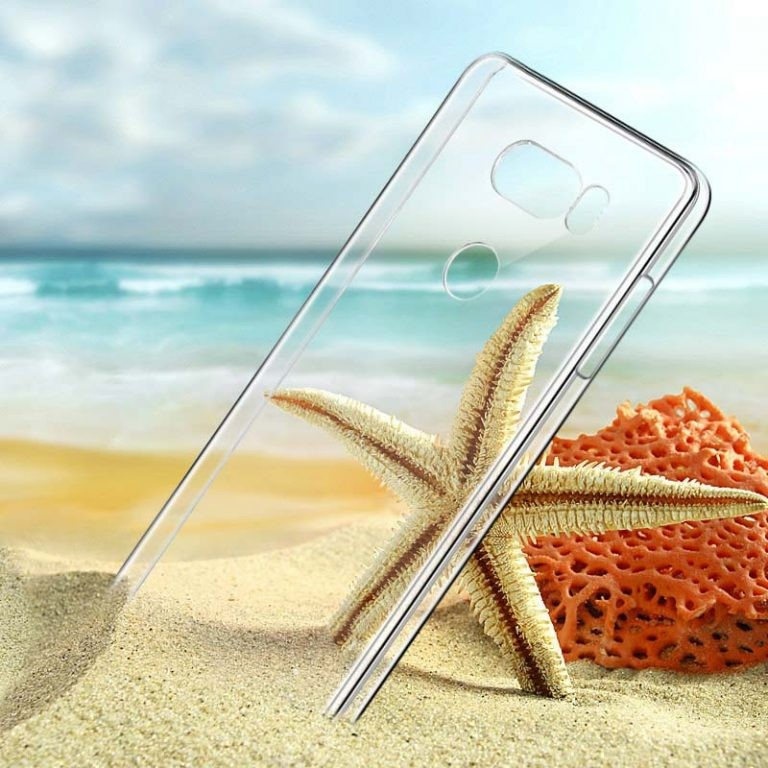 قاب محافظ کریستالی ال جی Clear Crystal Cover For LG V30