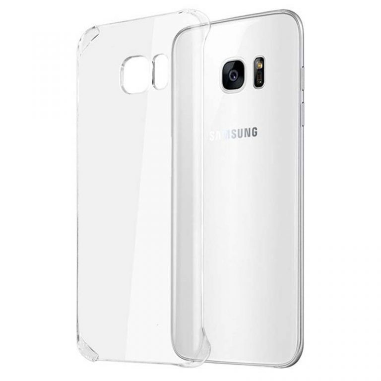 قاب محافظ کریستالی سامسونگ Clear Crystal Cover For Samsung Galaxy S7