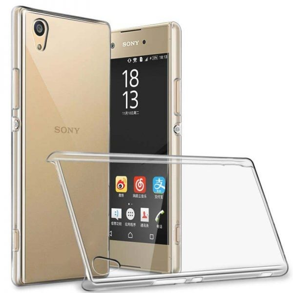 قاب محافظ کریستالی سونی Clear Crystal Cover For Sony Xperia XA1 Plus