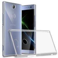 قاب محافظ کریستالی سونی Clear Crystal Cover For Sony Xperia XA2