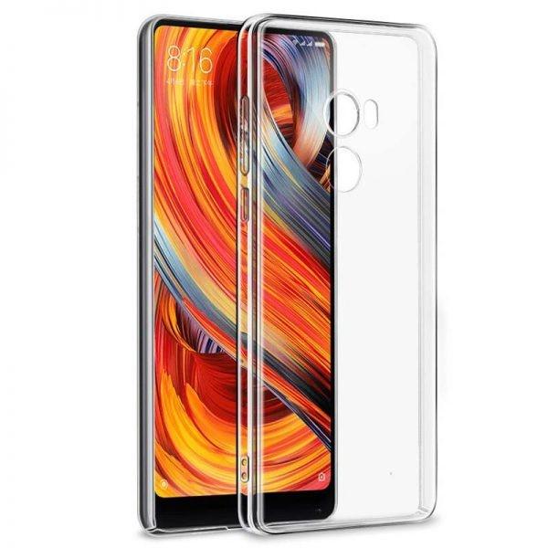 قاب محافظ کریستالی شیائومی Clear Crystal Cover For Xiaomi Mi Mix 2