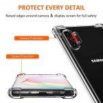 قاب محافظ ژله ای کپسول دار 5 گرمی سامسونگ Clear Tpu Air Rubber Jelly Case For Samsung Galaxy Note 10 Plus