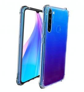 قاب محافظ ژله ای کپسول دار 5 گرمی شیائومی Clear Tpu Air Rubber Jelly Case For Xiaomi Redmi Note 8T
