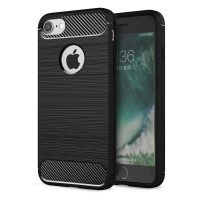 قاب محافظ ژله ای اپل Fiber Carbon Rugged Armor Case For Apple iPhone 7 8