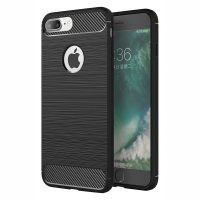 قاب محافظ ژله ای اپل Fiber Carbon Rugged Armor Case For Apple iPhone 7 Plus 8 Plus