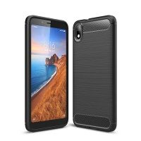 قاب محافظ ژله ای شیائومی Fiber Carbon Rugged Armor Case For Xiaomi Redmi 7A