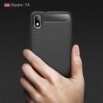 قاب محافظ ژله ای شیائومی Fiber Carbon Rugged Armor Case For Xiaomi Redmi 7A