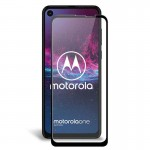 محافظ صفحه نمایش تمام چسب با پوشش کامل موتورولا Full Glass Screen Protector For Motorola One Action