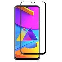 محافظ صفحه نمایش تمام چسب با پوشش کامل سامسونگ Full Glass Screen Protector For Samsung Galaxy M10s