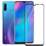 محافظ صفحه نمایش مات تمام چسب با پوشش کامل هواوی Full Matte Glass Screen Protector For Huawei P30 Lite Nova 4e
