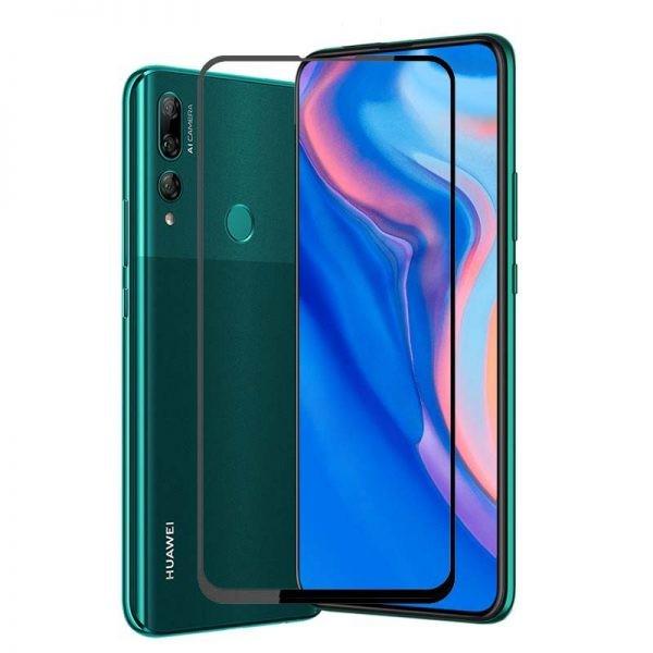 محافظ صفحه نمایش مات تمام چسب با پوشش کامل هواوی Full Matte Glass Screen Protector For Huawei Y9 Prime 2019 P Smart Z 2019