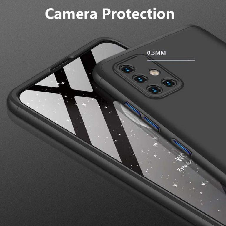 قاب محافظ با پوشش 360 درجه سامسونگ GKK 360 Full Case For Samsung Galaxy A51