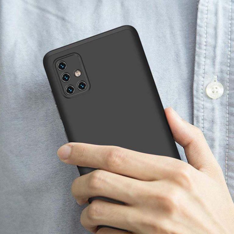 قاب محافظ با پوشش 360 درجه سامسونگ GKK 360 Full Case For Samsung Galaxy A71