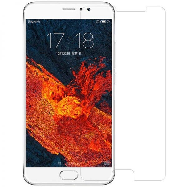 محافظ صفحه نمایش شیشه ای Glass Screen Protector For Meizu Pro 6 Plus