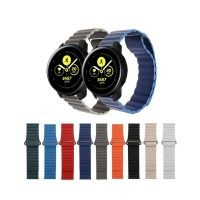 بند چرمی ساعت هوشمند سامسونگ Galaxy Watch Active مدل Leather Loop
