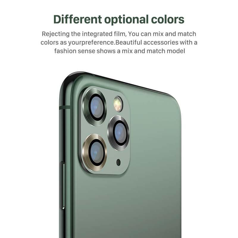 محافظ لنز دوربین فلزی نیلکین آیفون Nillkin CLRFilm Camera For Apple iPhone 11