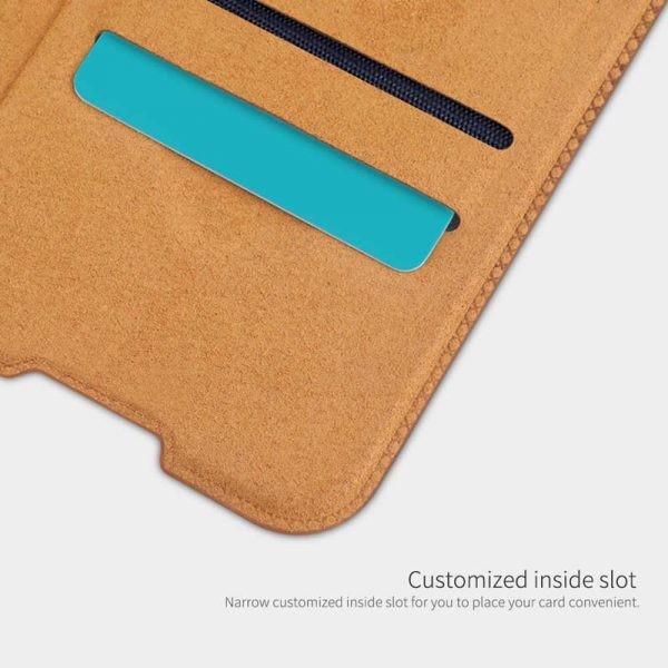 کیف محافظ چرمی نیلکین سامسونگ Nillkin Qin Case For Samsung Galaxy A01