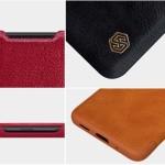 کیف محافظ چرمی نیلکین سامسونگ Nillkin Qin Case For Samsung Galaxy S20