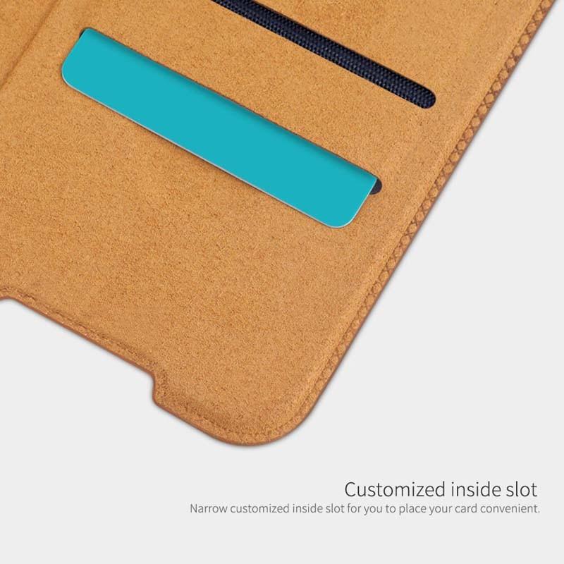 کیف محافظ چرمی نیلکین شیائومی Nillkin Qin Case For Xiaomi Redmi K30