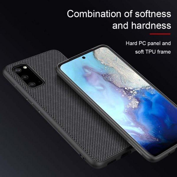 قاب محافظ نیلکین سامسونگ Nillkin Textured nylon fiber Case Samsung Galaxy S20