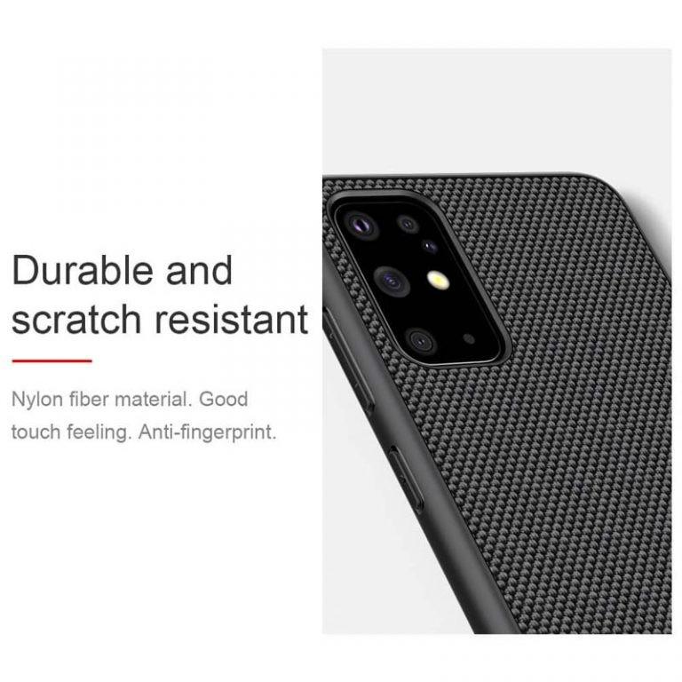 قاب محافظ نیلکین سامسونگ Nillkin Textured nylon fiber Case Samsung Galaxy S20 Plus
