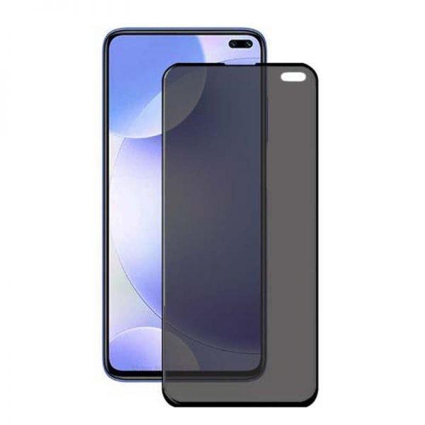 محافظ صفحه نمایش حریم شخصی تمام چسب با پوشش کامل شیائومی Privacy Full Screen Protector For Xiaomi Redmi K30