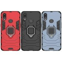 قاب محافظ انگشتی سامسونگ Ring Holder Iron Man Armor Case Samsung Galaxy A10s