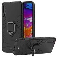 قاب محافظ انگشتی سامسونگ Ring Holder Iron Man Armor Case Samsung Galaxy A70s A70