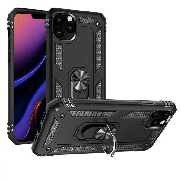 قاب محافظ انگشتی اپل Ring Rugged Hybrid Armor 360 Case Apple iPhone 11 Pro Max