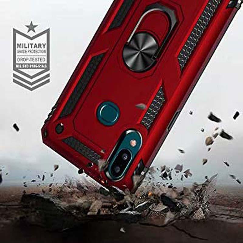 قاب محافظ انگشتی سامسونگ Ring Rugged Hybrid Armor 360 Case Samsung Galaxy A10s