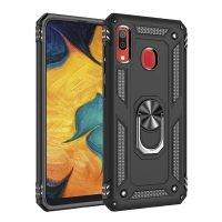 قاب محافظ انگشتی سامسونگ Ring Rugged Hybrid Armor 360 Case Samsung Galaxy A30