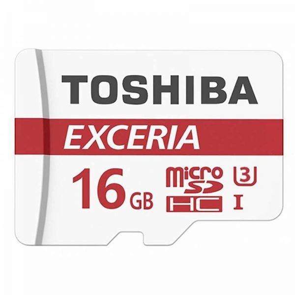 کارت حافظه میکرو اسدی 16 گیگابایت Toshiba 16GB EXCERIA M302 microSDHC Class 10