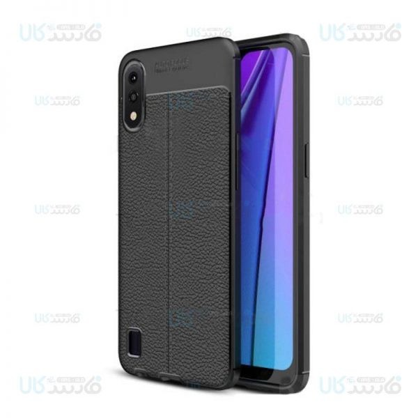 قاب ژله ای طرح چرم سامسونگ Auto Focus Jelly Case For Samsung Galaxy A01