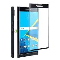 محافظ صفحه نمایش تمام چسب با پوشش کامل بلک بری Full Glass Screen Protector For BlackBerry Priv