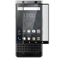 محافظ صفحه نمایش تمام چسب با پوشش کامل بلک بری Full Glass Screen Protector For Blackberry KEYone