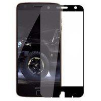 محافظ صفحه نمایش تمام چسب با پوشش کامل موتورولا Full Glass Screen Protector For Motorola Moto Z