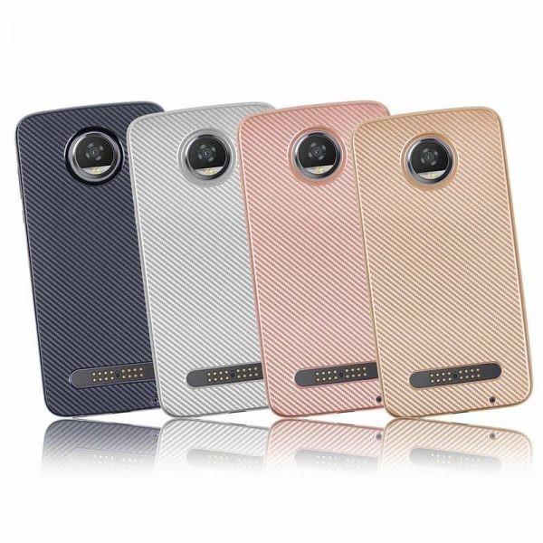 قاب محافظ ژله ای هایمن موتورولا Haimen Carbon Fiber Case For Motorola Moto Z2 Play