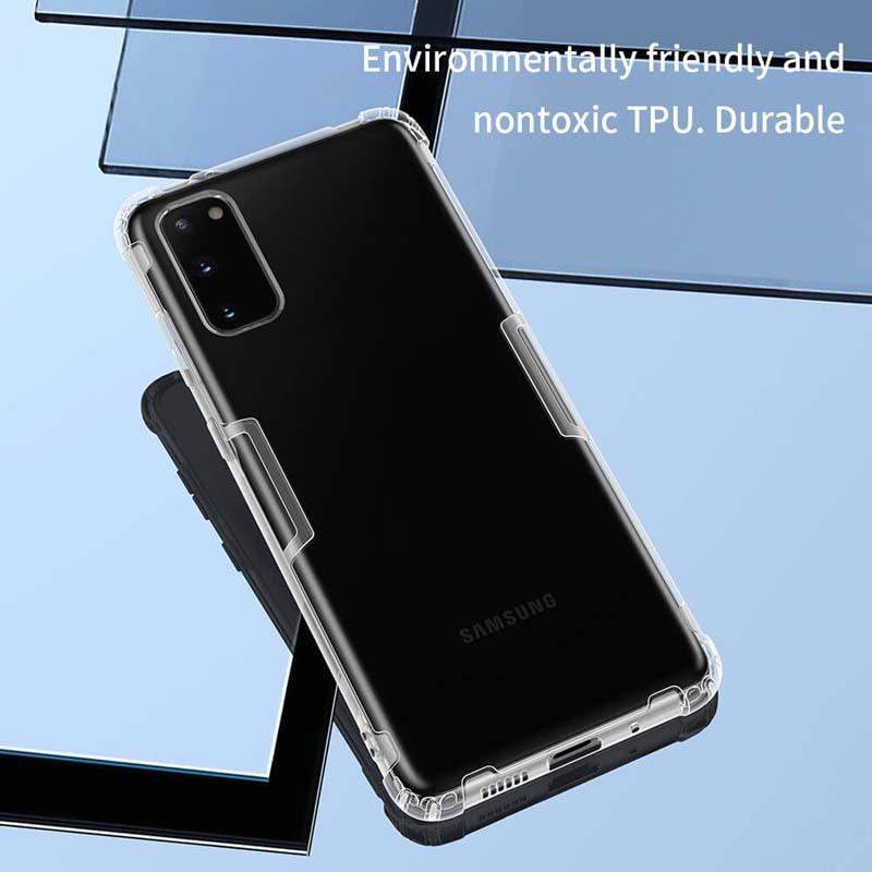 قاب محافظ ژله ای نیلکین سامسونگ Nillkin Nature Series TPU case for Samsung Galaxy S20