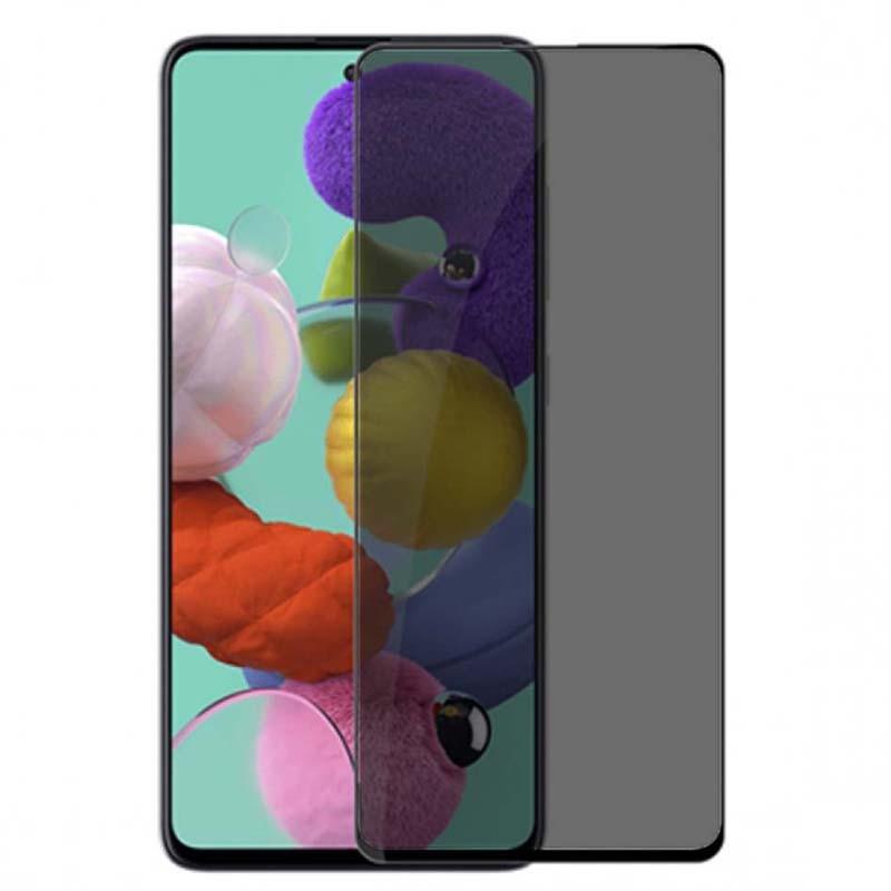 محافظ صفحه نمایش حریم شخصی تمام چسب با پوشش کامل سامسونگ Privacy Full Screen Protector For Samsung Galaxy A51