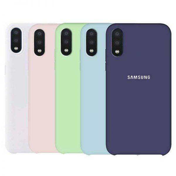 قاب محافظ سیلیکونی سامسونگ Silicone Case For Samsung Galaxy A01