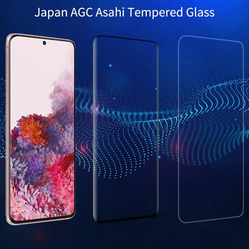 محافظ صفحه نمایش شیشه ای نیلکین سامسونگ Nillkin 3D DS+MAX Glass Samsung Galaxy S20