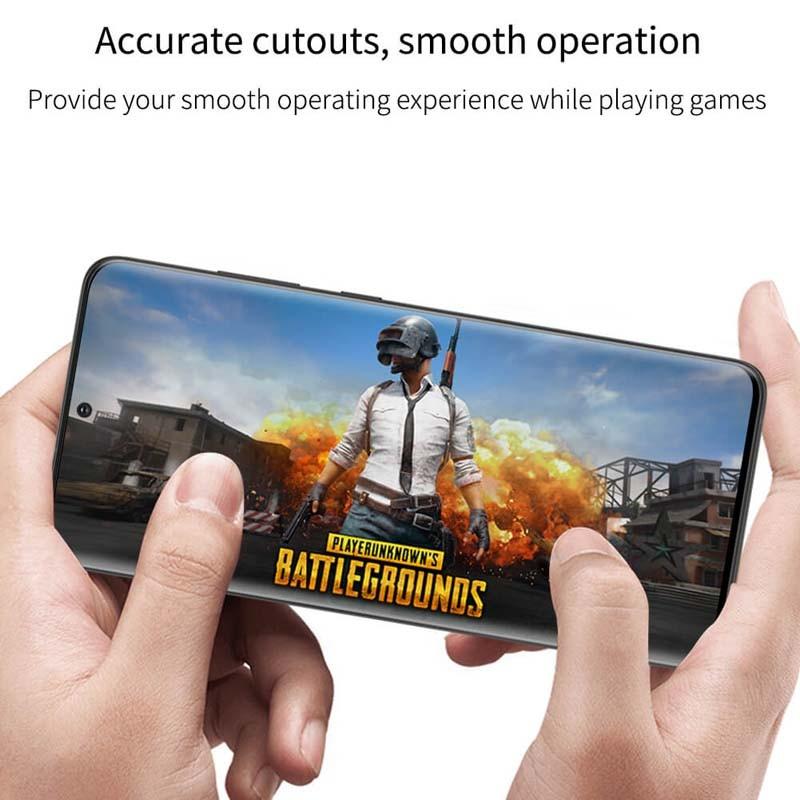 محافظ صفحه نمایش شیشه ای نیلکین سامسونگ Nillkin 3D DS+MAX Glass Samsung Galaxy S20 Ultra