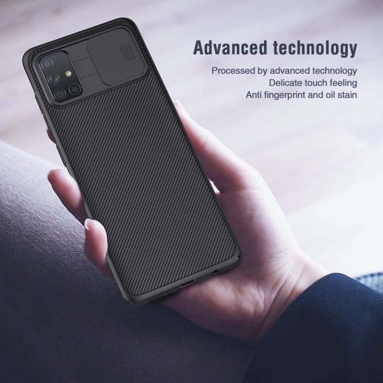 قاب محافظ نیلکین سامسونگ Nillkin CamShield Case for Samsung Galaxy A71
