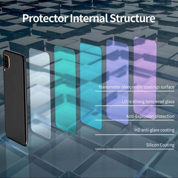 محافظ صفحه نمایش شیشه ای نیلکین هواوی Nillkin H+ Pro Glass Huawei P40 Lite / Nova 7i / Nova 6 SE