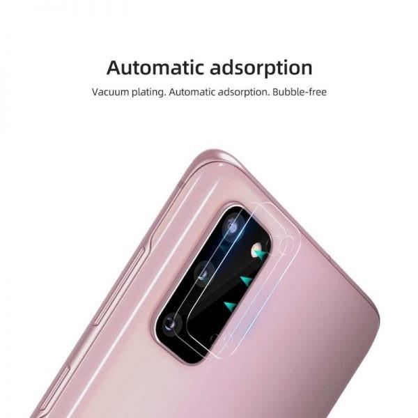 محافظ لنز دوربین نیلکین سامسونگ Nillkin InvisiFilm camera protector for Samsung Galaxy S20