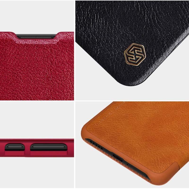 کیف محافظ چرمی نیلکین هواوی Nillkin Qin Case For Huawei P40